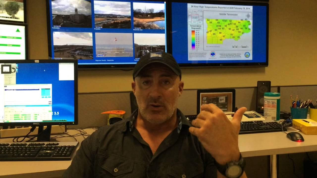 The Weather Channel's Jim Cantore isn't coming to Nashville to cover severe ...