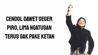 Download Lagu Lirik Lagu Pamer Bojo Versi Cendol Dawet mp3