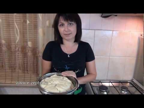 Безопарное дрожжевое тесто: мастер-класс для начинающих / How to make Straight dough ♡ Eng.subtitles