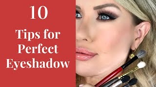 10 Tips for Applying and Blending Eyeshadow PERFECTLY!