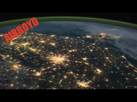 Pass Over Canada And Central United States At Night (ISS)