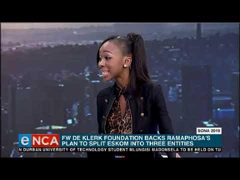 FW De Klerk Foundation reacts to SONA