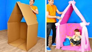 Brilliant DIY Cardboard Crafts For Your Home || Recycling Ideas You Must Try