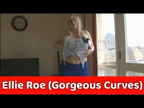 Gorgeous Curvy BBW Raphaella Lily Aka #EllieRoe Posing on Camera | The Perfect Curvy Babe