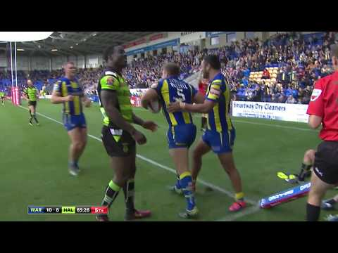 Warrington Wolves v Halifax, 19.08.17