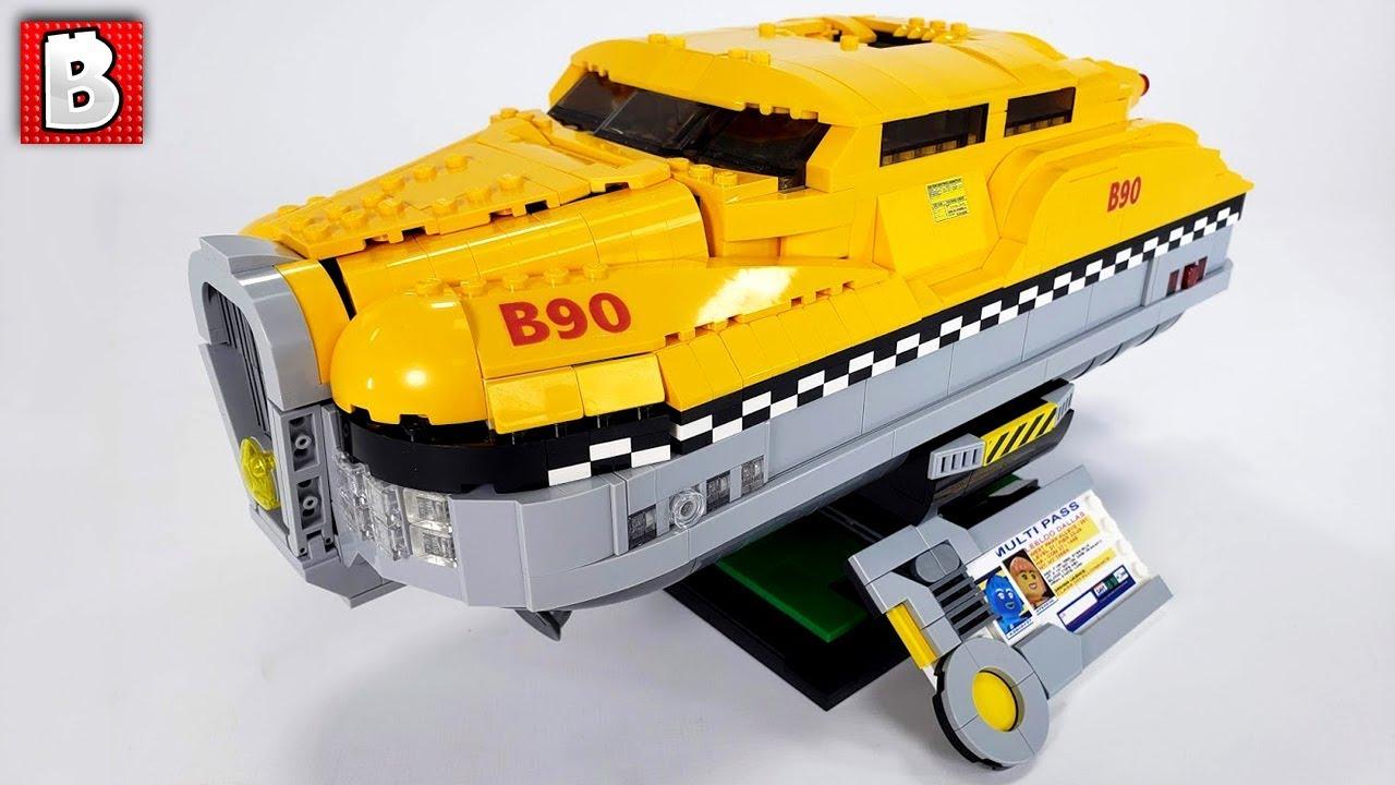 LEGO Fifth Element Taxi Custom Build!