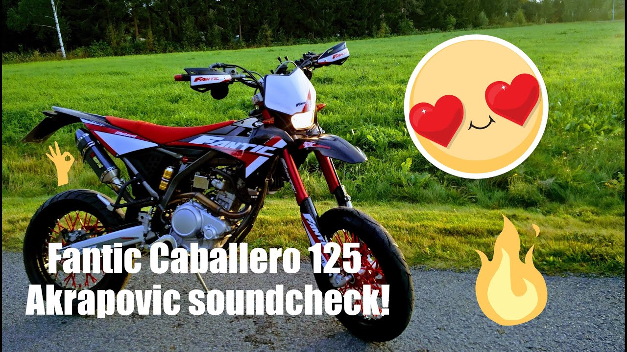fantic caballero 125 2017 akrapovic soundcheck fly by youtube. Black Bedroom Furniture Sets. Home Design Ideas
