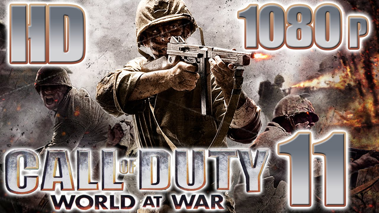 I play the Call of Duty World at War campaign for the first time in 3 years.