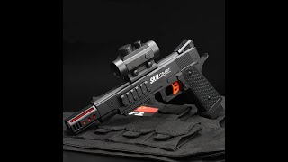 Realistic Toy Gun Airsoft - Ball Bullet Shooter Toy Pistol -Realistic Laser Air Sport Gun Toy