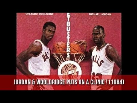 Michael Jordan & Orlando Woolridge Torching Milwaukee Bucks ! (1984)