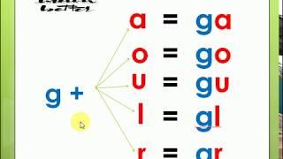 تعلم اللغة الفرنسية من الصفر: 31      [ g  =[g