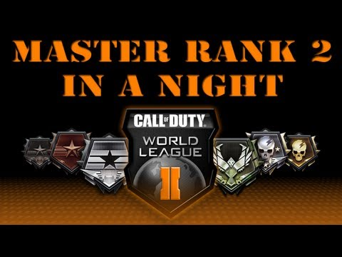 Master Rank 2 In A Night - League Play