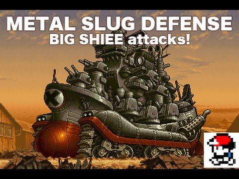Metal Slug Defense Episodio 9 Big Shiee Youtube