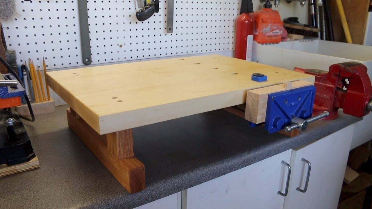 Mini Tabletop Workbench Youtube
