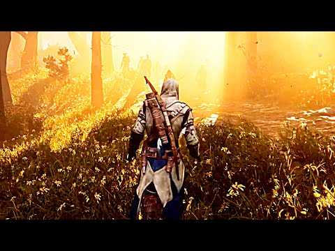 Assassins Creed III Remastered PS4 Trailer With Graphics Comparison