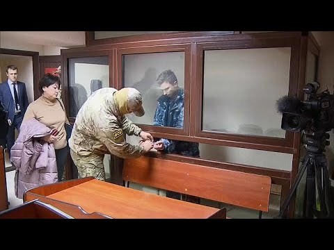 Rússia acusa formalmente marinheiros ucranianos