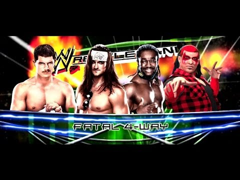 Drew Mcintyre Vs Kofi Kingston Vs Coby Rhodes Vs Bigtime Ando