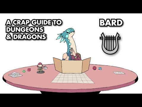 A Crap Guide to D&D [5th Edition] - Bard - YouTube