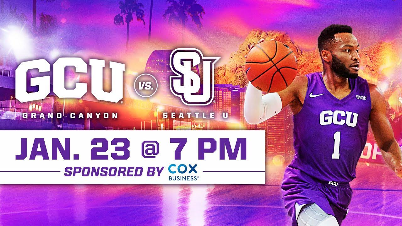 GCU Men's Basketball vs Seattle U January 23, 2020