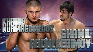 KHABIB Nurmagomedov beats Shamil Abdulkerimov in 3rd mma FIGHT, HQ | The Eagle