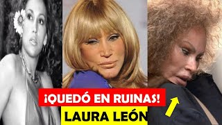 La Triste Historia de Laura León | Del Éxito a la Ruina