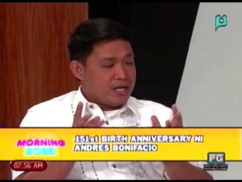 Panayam kay Jonathan Balsamo ukol sa 151st Birth Anniversary ni Andres Bonifacio [11 28 14]