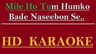 Mile Ho Tum Humko Karaoke by Rohit Singh