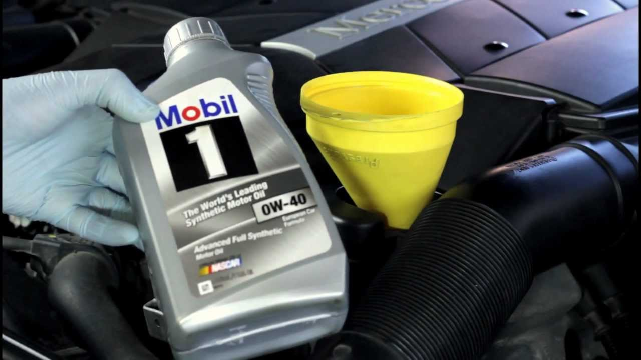 how to change the oil on your mercedes benz s500 - youtube