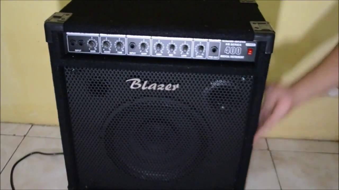 review amplifier keyboard blazer kb400 youtube. Black Bedroom Furniture Sets. Home Design Ideas