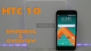 HTC 10 Unboxing & Overview - Carbon Gray - My2Cents