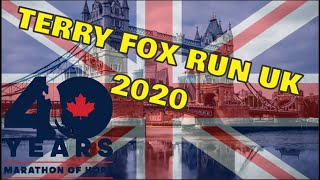 Terry Fox Run in the UK 2020