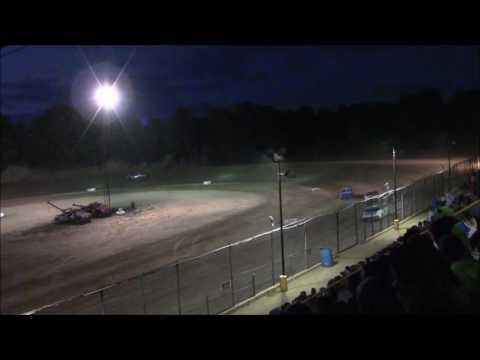 Butler Motor Speedway Street Stock B-Main 7/9/16