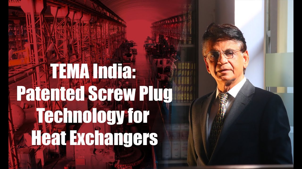 Download TEMA India: Patented Screw Plug Technology for Heat Exchangers