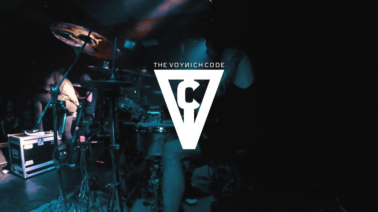 The Voynich Code - Born to Suffer - Live Drum Cam [Euler Morais]