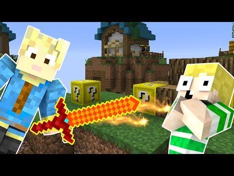 Dansk Minecraft - LUCKY BLOCK ISLAND!!