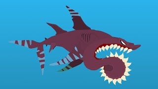 Buzz the Helicoprion Node | Stick Nodes
