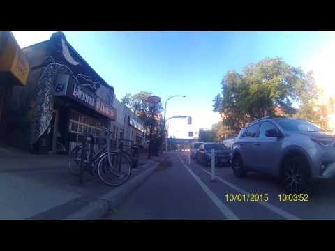 To work (Training) Bike Cam Rear Facing