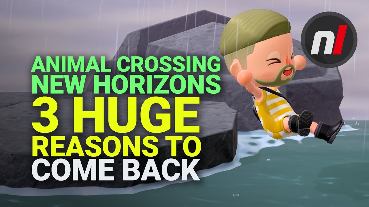 Summer Update: 3 Reasons to Come Back to Animal Crossing New Horizons on Switch