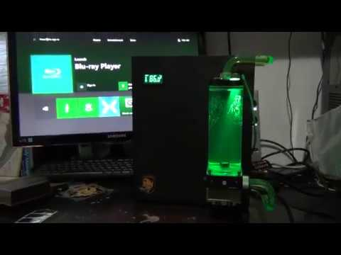 Xbox One X Water Cooling System