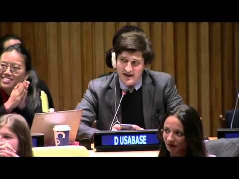 Question on unpaid UN internships at the ECOSOC 2016 Youth Forum