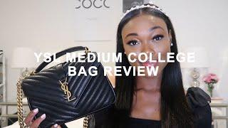 YSL MEDIUM COLLEGE BAG REVIEW | Brenna Anastasia