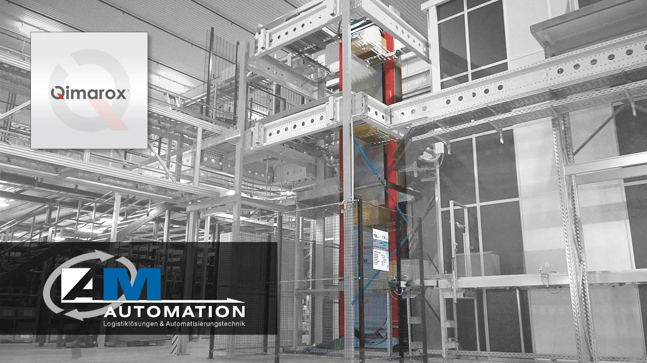 Prorunner mk5 vertical sorter application by AM-Automation