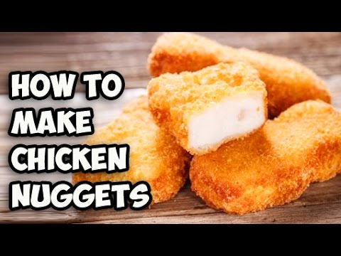 How To Make Chicken Nuggets Homemade Chicken Nuggets Recipe
