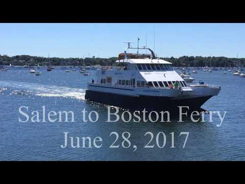 Salem to Boston Ferry 2017