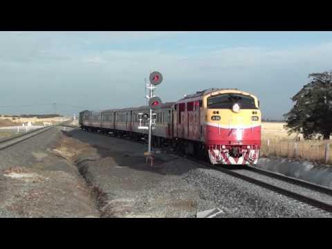 Trains At The New Caroline Springs Station - Melbourne Transport