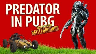 👾 PREDATOR IN PUBG | PUBG DESERT MAP GAMEPLAY | PUBG: FUNNY & WTF MOMENTS | GAMERACTIA🎮