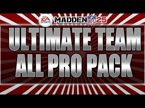 Madden 25 Ultimate Team | ALL PRO Pack Opening | XBOX ONE  Season 2 | Madden Ultimate Team Tips