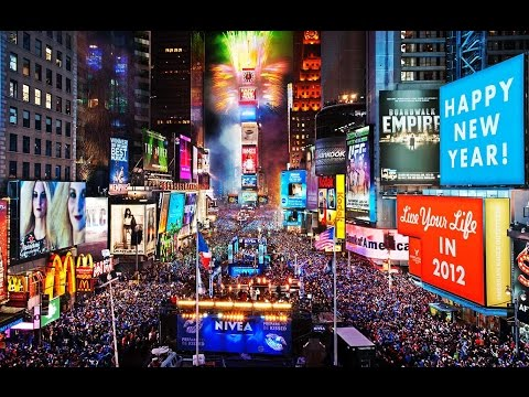 NEW YEAR TIME SQUARE | webcam