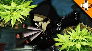 REAPER GETS HIGH! - Overwatch Funny & Epic Moments 237 - Highlights Montage
