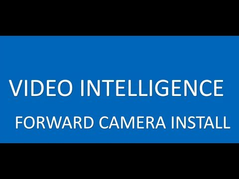 Forward Facing Camera Install